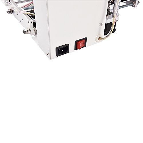 JGAURORA Desktop DIY 3D Drucker Selbstmontage Metall Rahmen Prusa i3 Kit ABS PLA Filament 1.75mm -