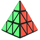 ZyXy negro Magic dodecaedro Megaminx +/cubo pirámide 3 x 3 x 3 +/3 x 3 plata o oro espejo Puzzle Cubo Irregular Cubo Juguete intéressant