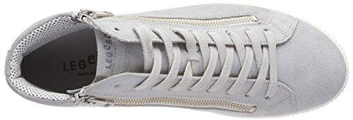 Legero Tanaro, Sneaker a Collo Alto Donna Grigio (Alluminio)