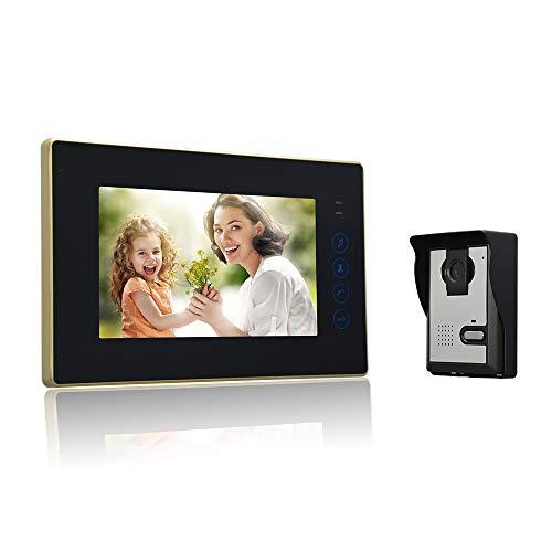 Nudito Kit Videoportero Universal Botón Táctil Casa