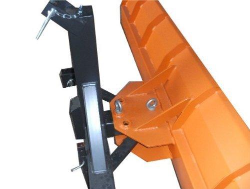 Schneeschild 200x57cm mechanisch nach links und rechts schwenkbar für Traktor Bulldog Kat-2
