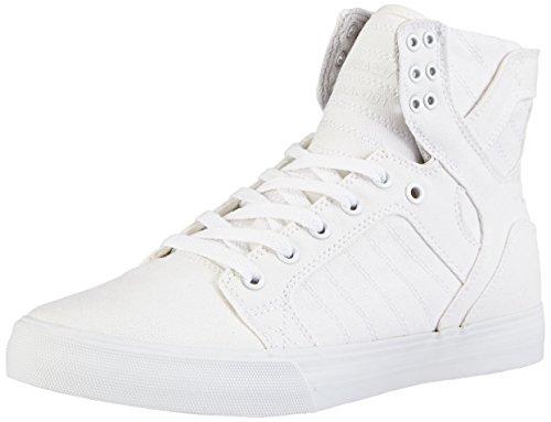 Supra Skytop D, Sneakers Hautes mixte adulte Blanc (OFF WHITE - WHITE OWT)