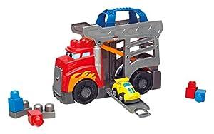 Mega Bloks Camión golpetones, juguete de construcción para bebé +1 año (Mattel CND68)