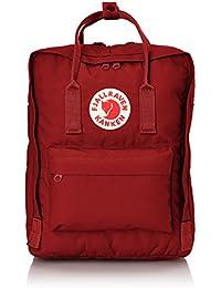 Fjallraven Backpack - Mochila de senderismo, color Rojo (Deep Red/Deep Red), talla Talla única