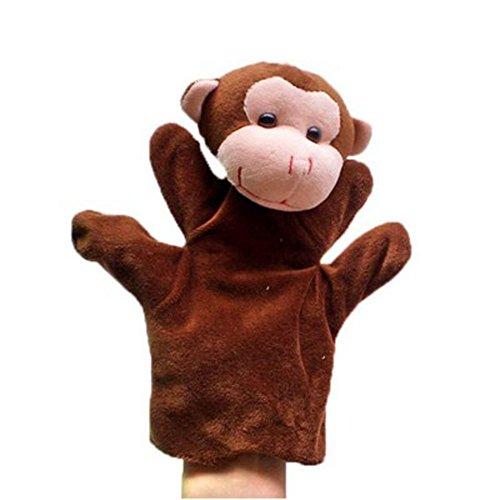 Kid felpa de mano de marionetas Juguetes, mono
