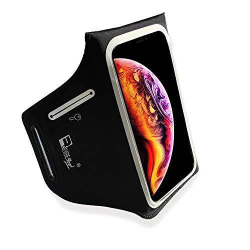 Wasserdichte Sportarmband für iPhone XS. Armband Telefon Handyhalter Case für Laufen, Workout, Joggen und Fitness