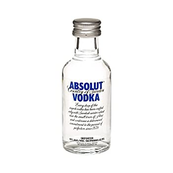 Miniatura absolut vodka 5cl