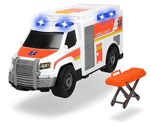 Dickie Toys 203306002 - Medical Responder mit Freilauf, Licht, Sound, 30 cm