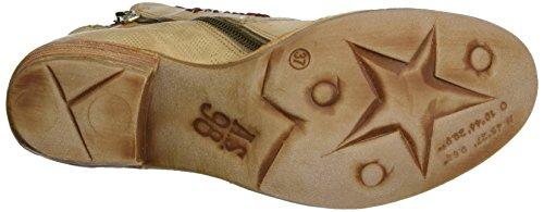 A.S.98 Damen Haiti Cowboy Stiefel Beige (Grano/Grano/Grano/Argento)
