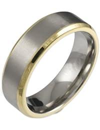 CORE by Schumann Design Herren-Ring aus Titan ohne Stein TT067.01