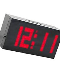 Gran Pantalla de la Pared del LED Digital Desk Relojes de Alarma Temporizador de Cuenta atrás