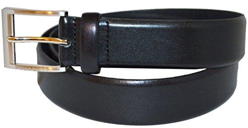 BOSS Hugo pour homme Almos 50129169 de ceinture en cuir Noir - Noir - 40W/105 cm EU