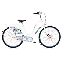 Electra Amsterdam Fashion 3i Love Bianco Bicicletta Cruiser Donna–193104