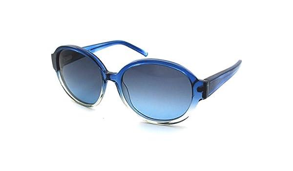 Romeo Gigli Lunette de soleil Femme Bleu bleu M: Amazon