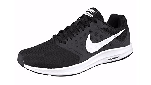 Nike Downshifter 7, Chaussures de Running Compétition Homme Multicolore (Black/white)