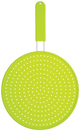 Colourworks Silikon-Spritzschutz, 28 cm – Grün
