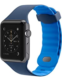 Belkin F8W730btC02 - Correa Deportiva para Apple Watch (42 mm/44 mm), Banda Deportiva para Apple Watch Series 4, 3,…