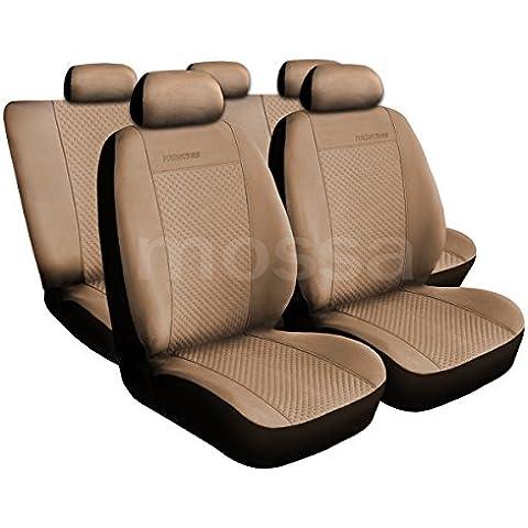(PG-3) Universal Fundas de asientos compatible con KIA (CARENS, CERATO, CEE`D, MAGENTIS, OPIRUS, PICANTO, RIO, SEPHIA, SHUMA, SORENTO, SOUL, SPORTAGE, VENGA)