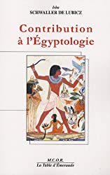 Contribution à l'Egyptologie