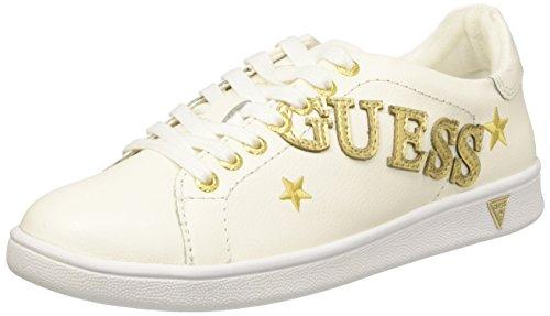 Guess Super, Zapatillas Mujer, Blanco Bianco, 39 EU