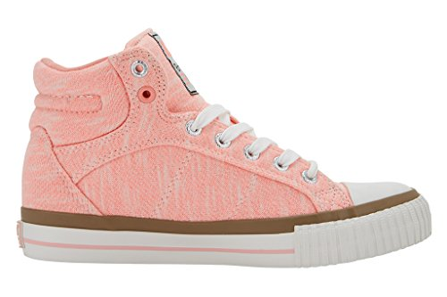 British Knights Dee Damen High-Top Pêche clair