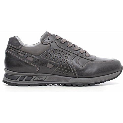 Nero Giardini , Chaussures de ville à lacets pour homme Musk Antracite