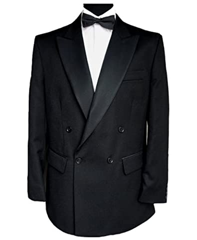 Finest Barathea Wool Double Breasted Dinner Jacket 48