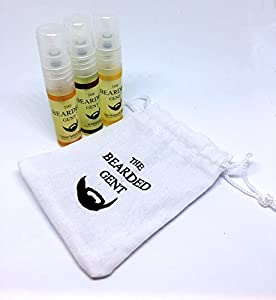 The Bearded Gent's Beard Oil - For a thicker, softer and fuller beard! - 14 Scents available! 10ml 30ml or 100ml! (Sample Kit)