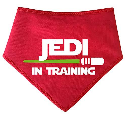 Spoilt Rotten Pets Jedi Halstuch für Hunde, Design Star-Wars-Jedi, Rot