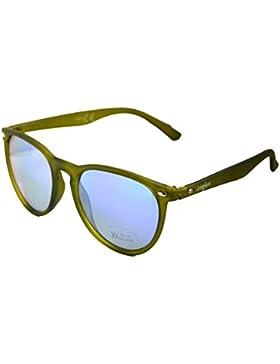 IRIS GLASS IRIS GLASS gafas de sol tipo RAY BAN, Armadura de policarbonato y cristales de Espejo de alta calidad...