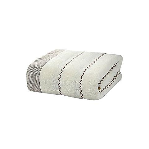 Wasser Ripple Handtuch Geschenk Box Strandtuch - weiß