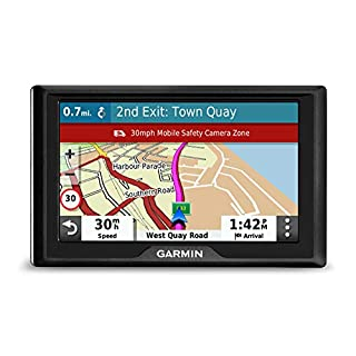 Garmin Drive 52 UK MT-S 5 Inch Sat Nav with Map Updates for UK and Ireland, Live Traffic and Speed Camera and Other Driver Alerts