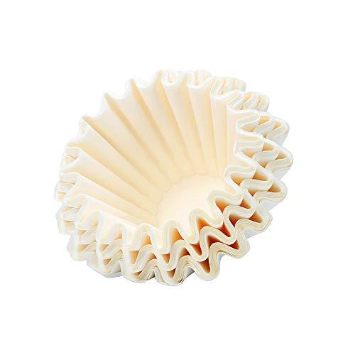 JIAYIBAO Kaffeefilterpapier Amerikanische Hand Filter Tasse Papier Kuchen Typ Runden Haushalt (50 7...