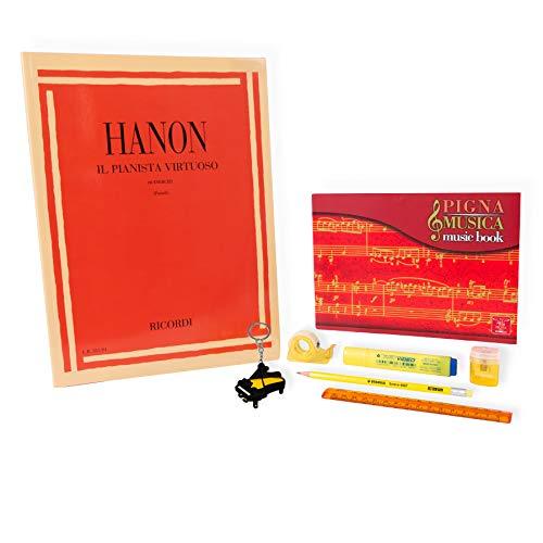 Hanon – El Planista Virtuoso 60 ejercicios – Kit