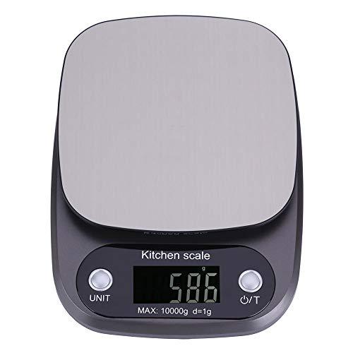 10 kg / 1g Báscula Digital para Cocina, Balanza Electrónica LCD Pocket Balanza de Cocina Peso...