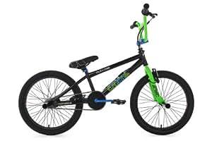 BMX Freestyle 20'' O-Cast vert / bleu
