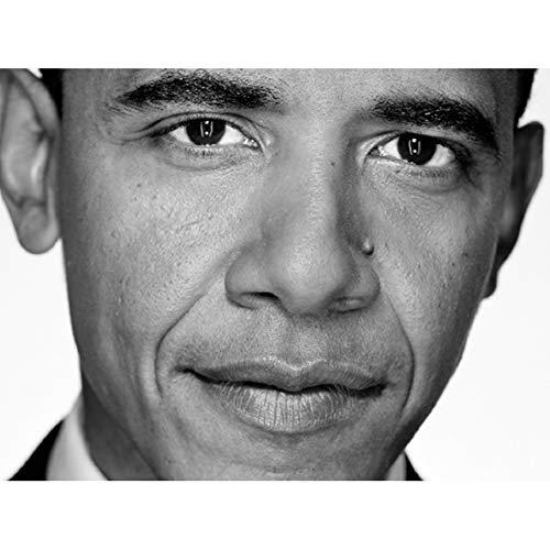 PHOTOGRAPHY PORTRAIT PRESIDENT BARACK OBAMA CLOSE UP USA 18X24'' PLAKAT POSTER ART PRINT LV11075