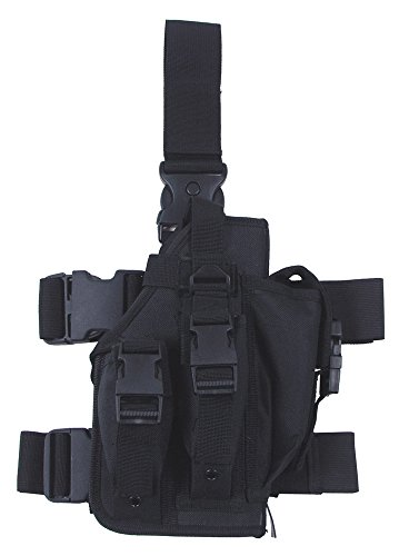 Universal Pistolenbeinholster rechts schwarz