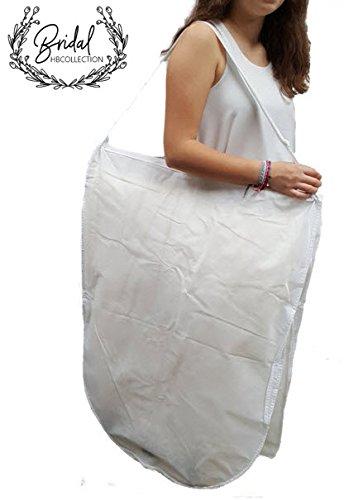 HBCOLLECTION Transport Kleidersack Kleiderhülle für Brautkleid Abendkleid Hochzeitskleid 183cm
