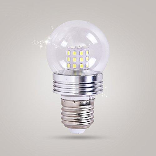 ZWL Led Glühbirne, E27 Spiral Mund 5-7W Energiesparende Glühbirnen Hervorgehoben Haus Beleuchtung Lichtquelle Gold Silber Warm Licht Weiß Licht , Bringe Licht in dein Leben ( Farbe : Weißes Licht , größe : B-7W ) (Energiesparende Spiral)