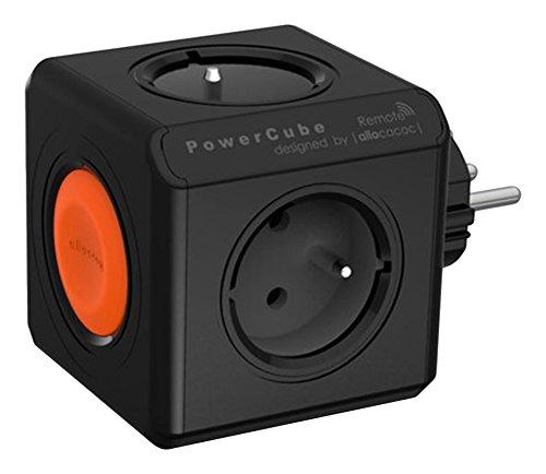 Allocacoc 1511BK/EUORRM - PowerCube Original (Remote) 4 Salidas Negro