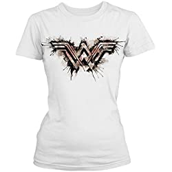 Wonder Woman - Camiseta - para hombre negro large
