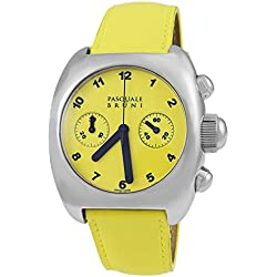 Pasquale Bruni Uomo Chronograph Edelstahl Swiss Made Automatic Herren-Armbanduhr 99mcagg