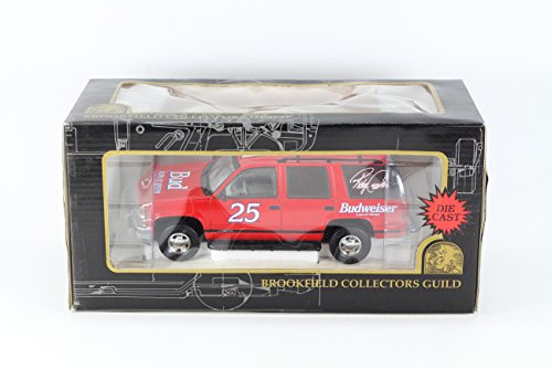new-in-box-brookfield-collectors-guild-1-25-diecast-model-chevy-chevrolet-tahoe-25-ricky-craven-budw