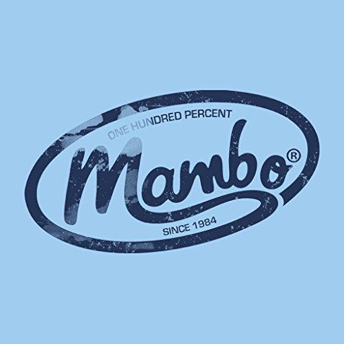 Mambo One Hundred Percent Logo Dark Women's Sweatshirt Sky Blue
