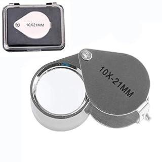 Ein-szcxtop Jeweller's Uhrmacherlupe mit 10 mal Uhrmacher Lupe