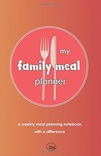 My Family Meal Planner: Weekly Meal Planning