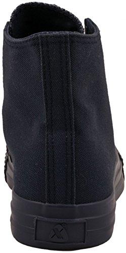Sneaker Elara Unisex | Scarpe Sportive Da Uomo Donna | Sneaker Alte Scarpe In Tessuto Tutte Blu