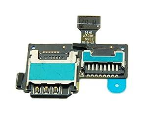 Samsung Galaxy S4 Mini i9195 LTE SIM Kartenleser Reader Slot Simkarten Speicherkarten Leser MicroSD - ToKa-Versand®