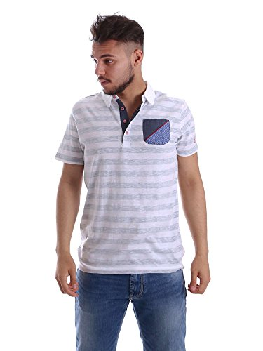 Gaudi jeans 71BU64087 Polo Man Grey